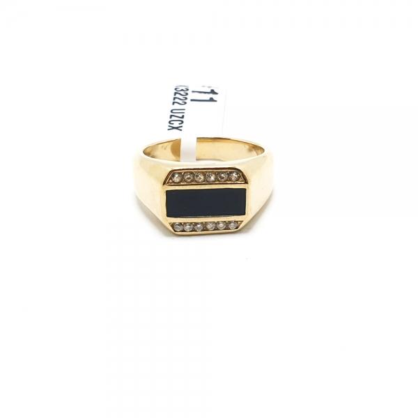 Inel placat cu aur SaraTremo [7]