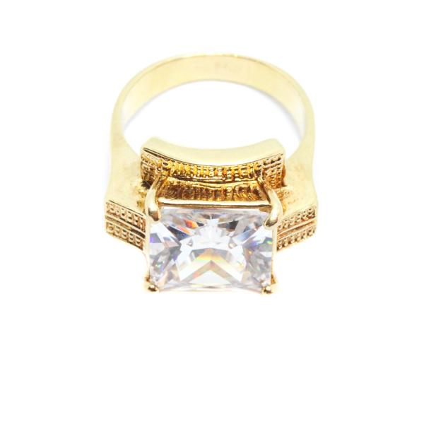 Inel tip ghiul pentru femei placat cu aur Kare 3