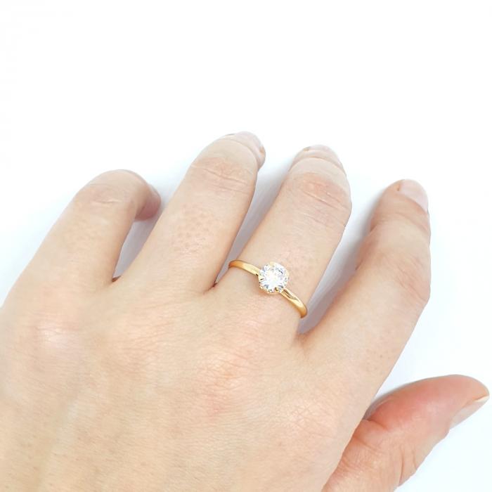Inel placat cu aur Recussite [4]