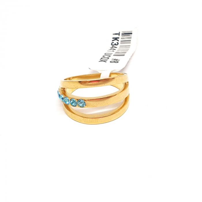 Inel placat cu aur Function [3]