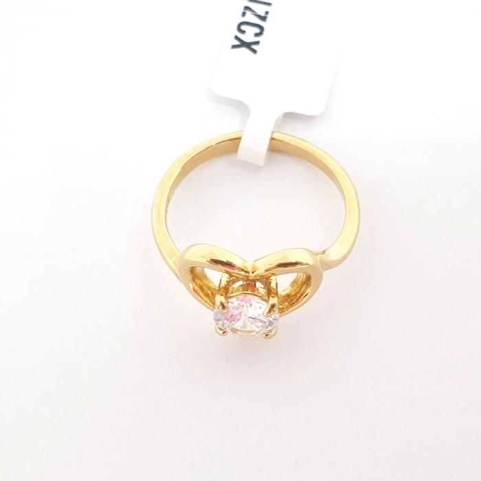 Inel placat cu aur Strain [3]