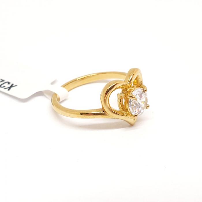 Inel placat cu aur Strain [1]