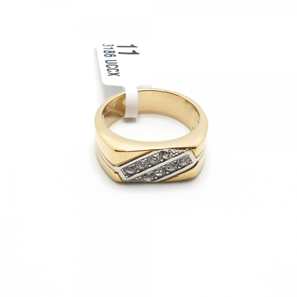 Inel placat cu aur SaraTremo [2]