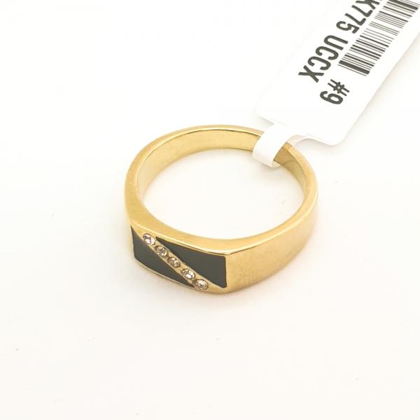 Inel placat cu aur SaraTremo 3