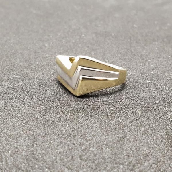 Inel placat cu aur SaraTremo 5