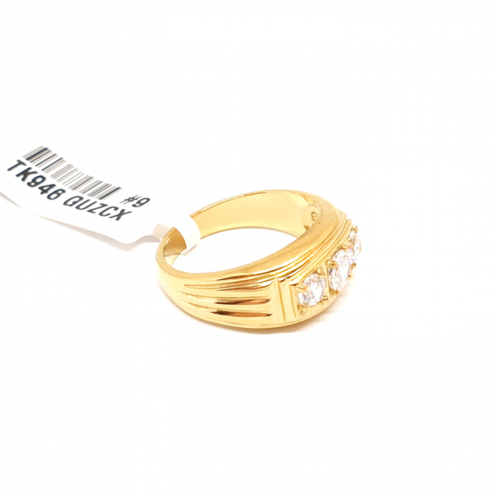 Inel tip ghiul unisex placat cu aur Muse [2]