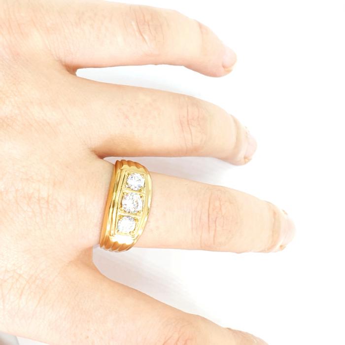 Inel tip ghiul unisex placat cu aur Muse [4]
