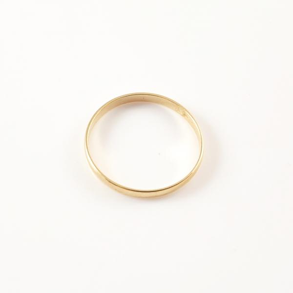 Inel tip verigheta placat cu aur SaraTremo 1