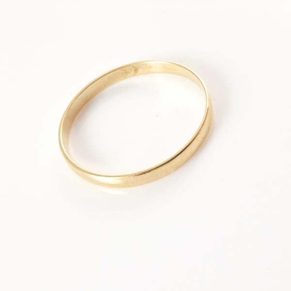 Inel tip verigheta placat cu aur SaraTremo 2