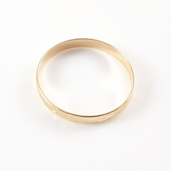 Inel tip verigheta placat cu aur SaraTremo [2]