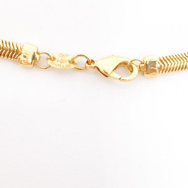 Colan placat cu aur SaraTremo 4