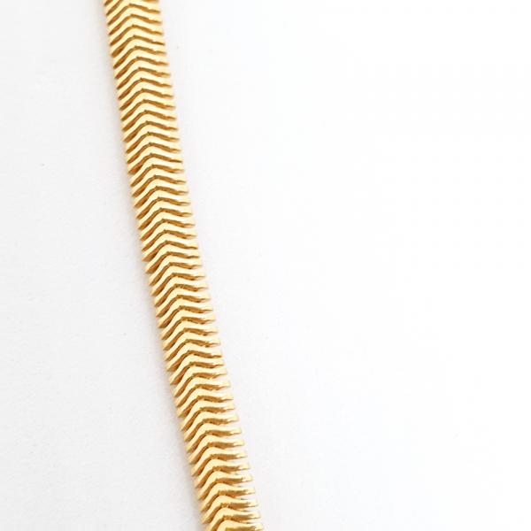 Colan placat cu aur SaraTremo 1