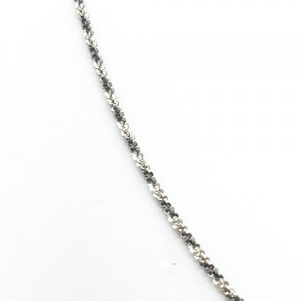 Lantisor argint impletit cu rodiu SaraTremo 1