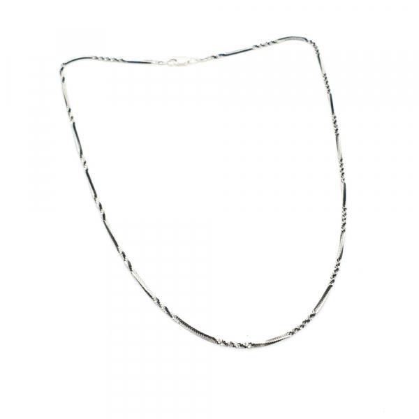 Lantisor argint impletit cu rodiu SaraTremo [4]