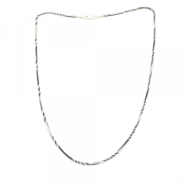 Lantisor argint impletit cu rodiu SaraTremo [0]