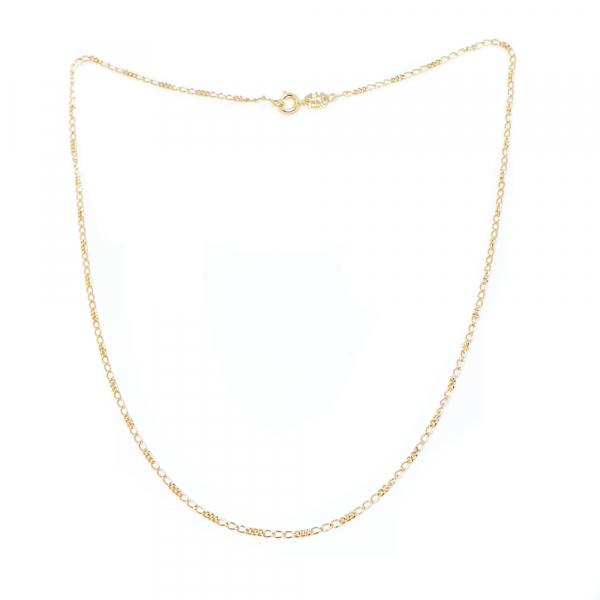 Lantisor placat cu aur 44-50 cm Hello