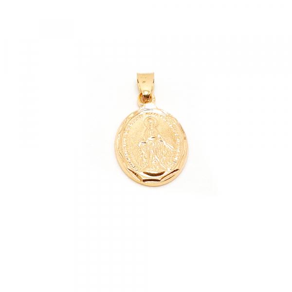 Medalion placat cu aur SaraTremo 0