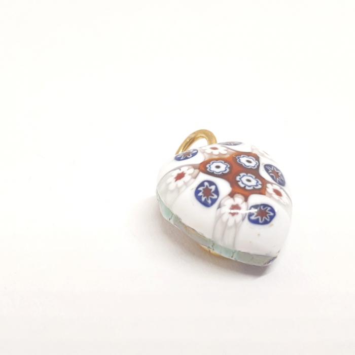 Pandantiv din sticla de Murano cu montura placata cu aur Venezzia [1]