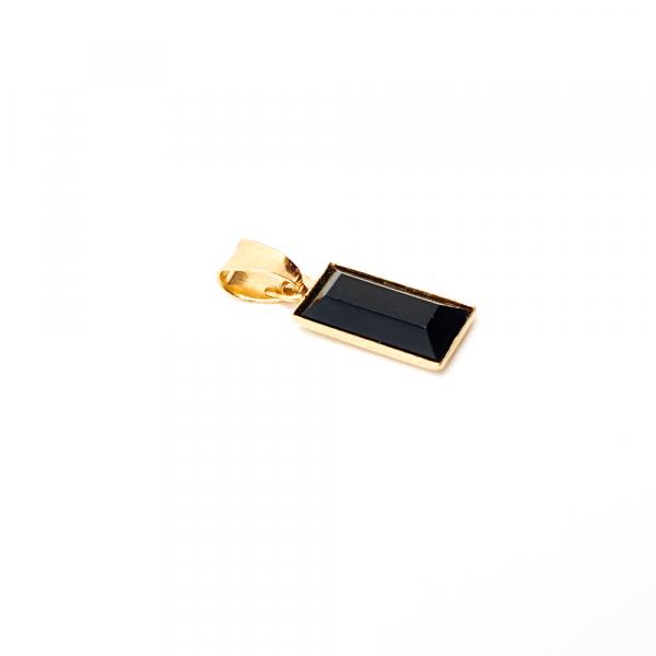 Pandantiv dreptunghiular placat cu aur Tube [1]