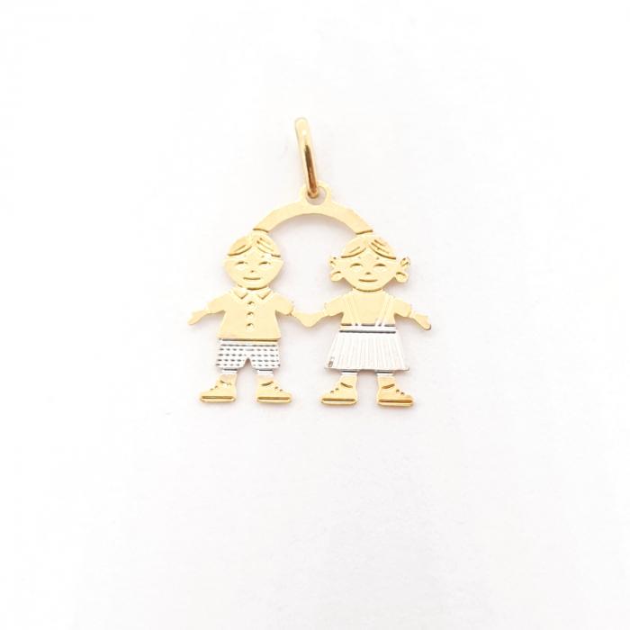 Pandantiv placat cu aur Minions [0]