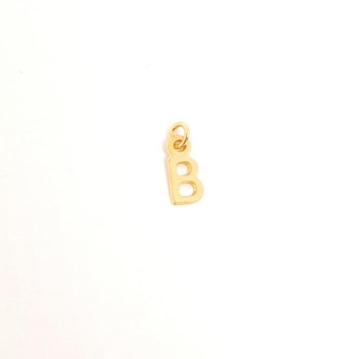 Pandantiv B placat cu aur SaraTremo [0]