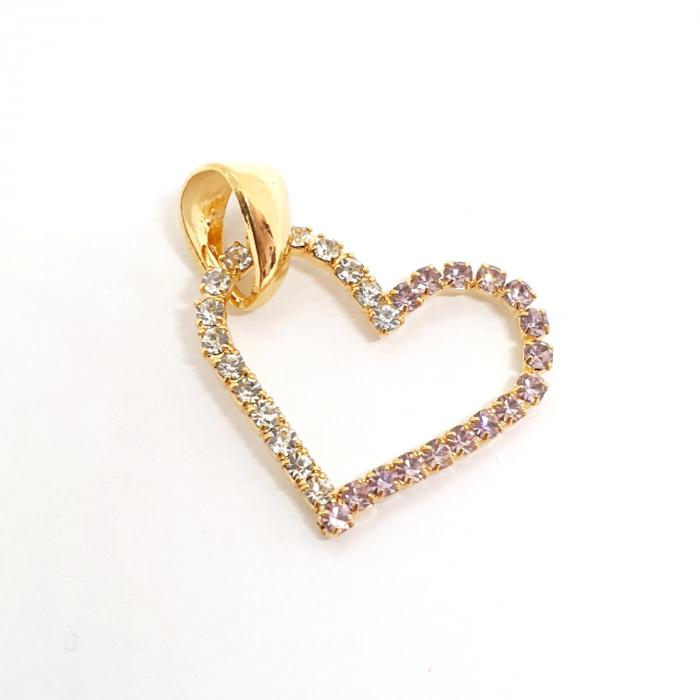 Pandantiv placat cu aur Amore Mio [0]