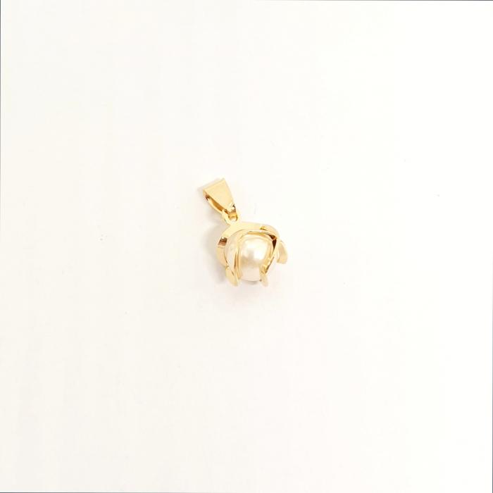 Pandantiv cu perla placat cu aur Honey [0]