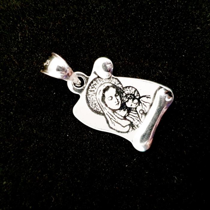 Pandantiv tip iconita din argint Sinnay [1]