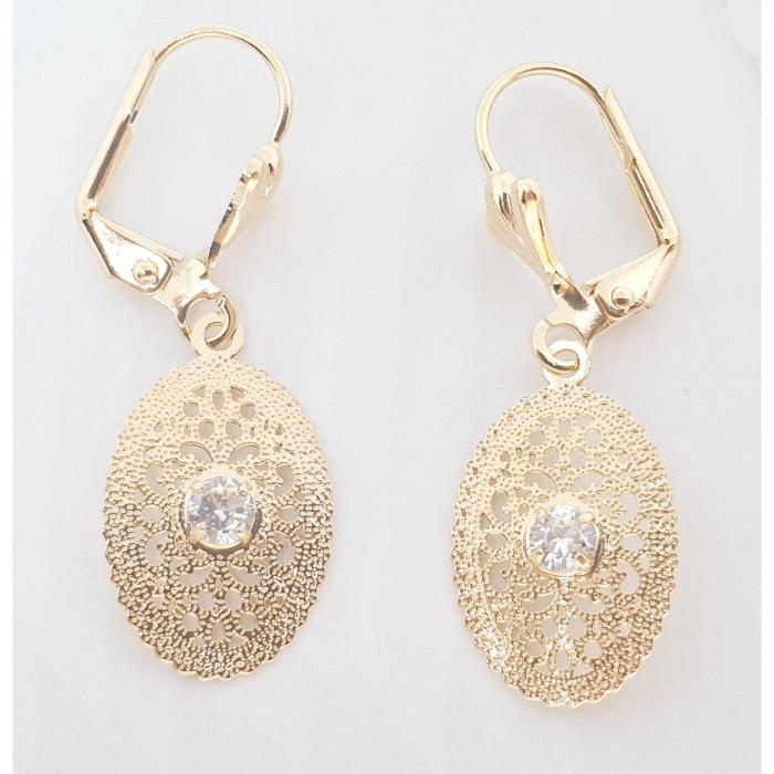 Set bijuterii placate cu aur SaraTremo [2]