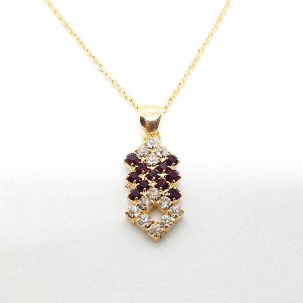 Set bijuterii placate cu aur SaraTremo 3