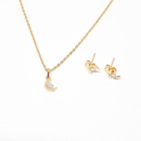 Set bijuterii placate cu aur SaraTremo 0