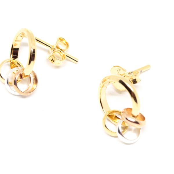 Set bijuterii placate cu aur SaraTremo 5
