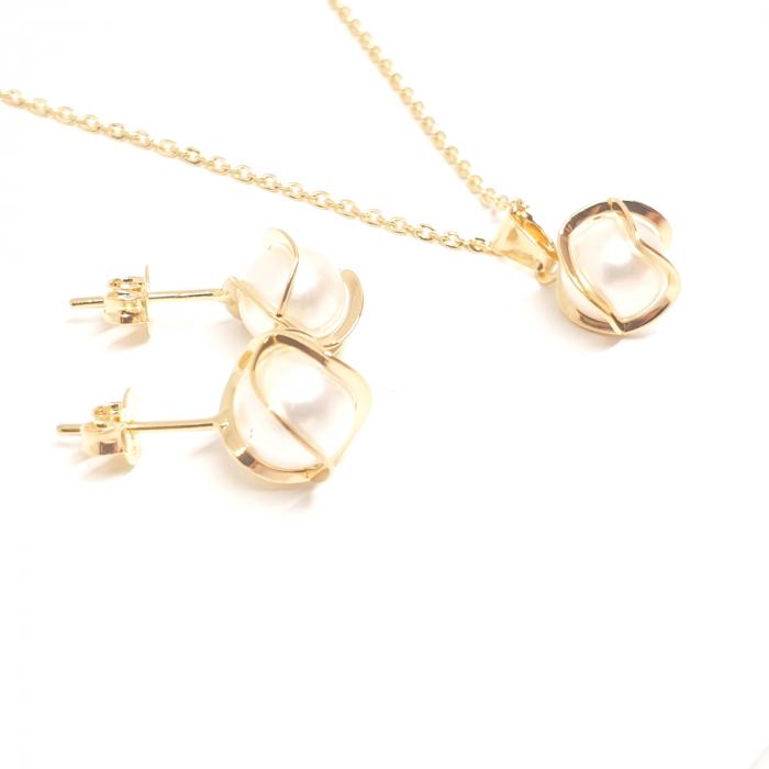 Set bijuterii placate cu aur SaraTremo [0]
