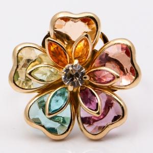 Inel placat cu aur de 18 K Rock & Shine3