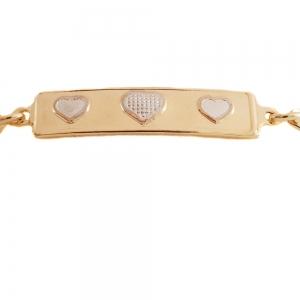 Bratara pentru copii placata cu aur 18 K Kid Luxury2