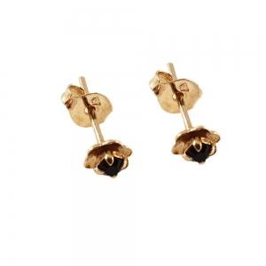 Cercei mici placati cu aur Trace0