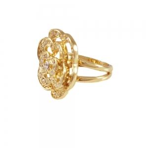 Inel placat cu aur Class by SaraTremo1