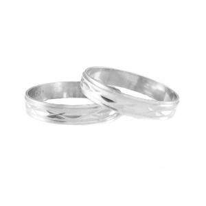 Inel tip verigheta din argint 9250