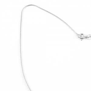 Lantisor 40-50 cm din argint rodiat Bounce1