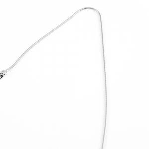 Lantisor 40-50 cm din argint rodiat Bounce2