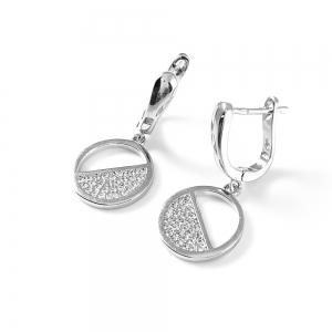 Cercei din argint Rayos1