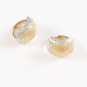 Cercei placati cu aur Medeea1