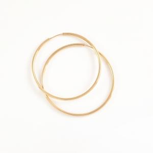 Creole 4.7 cm placate cu aur Warm0