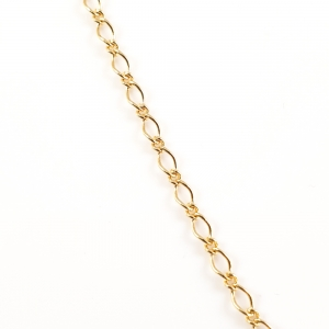 Lantisor 44-50 cm placat cu aur Kabbo1