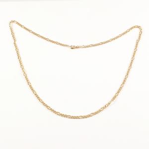 Lant 50 cm placat cu aur Basket1