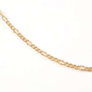 Lant 50 cm placat cu aur Basket0