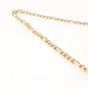 Lant 50 cm placat cu aur Basket2