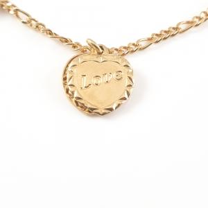 Bratara placata cu aur Love1
