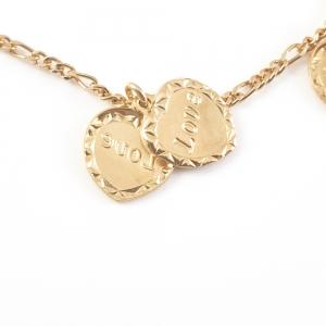 Bratara placata cu aur Love2