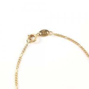 Bratara placata cu aur 20 cm Believe1